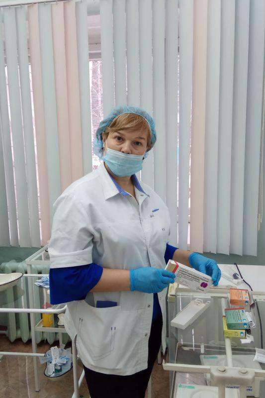 Соколова Ольга Александровна старшая медицинская сестра
