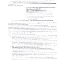 Предписание Роспотребнадзор 2019 г.