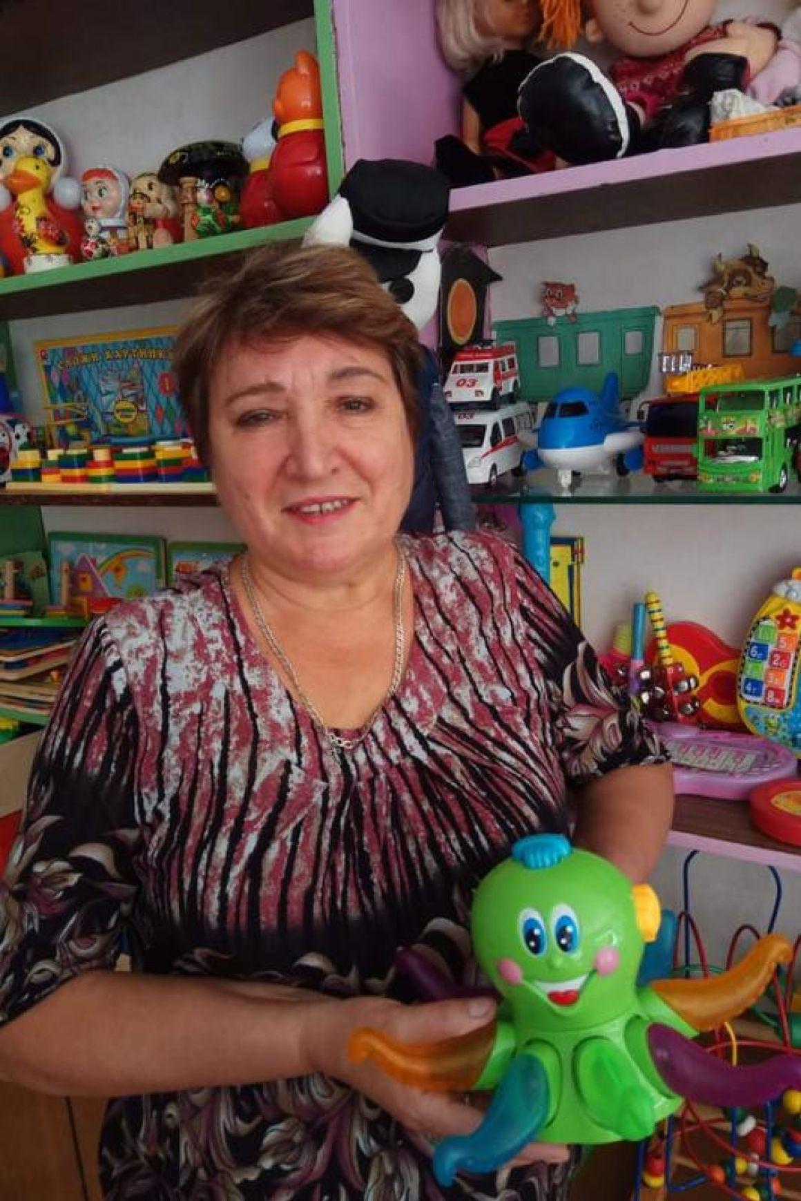 Горина Людмила Николаевна - воспитатель детского сада.